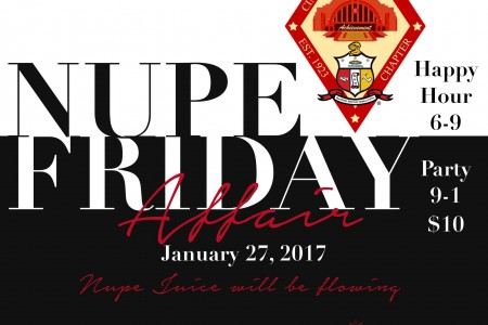 Nupe Friday Affair 1.27.17